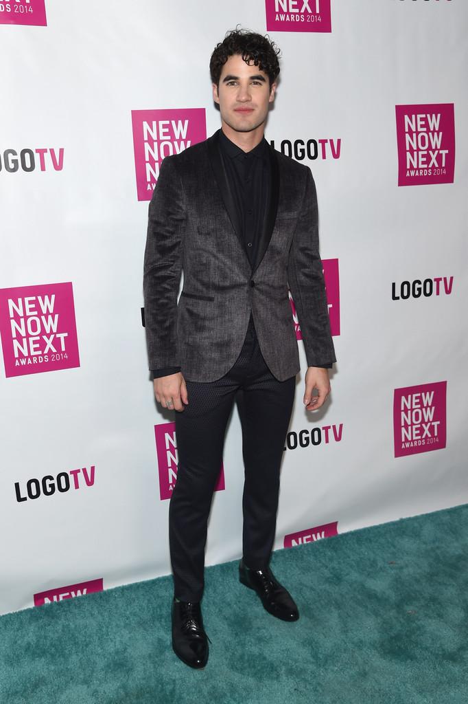 Darren Criss Wears Topman to NewNowNext Awards