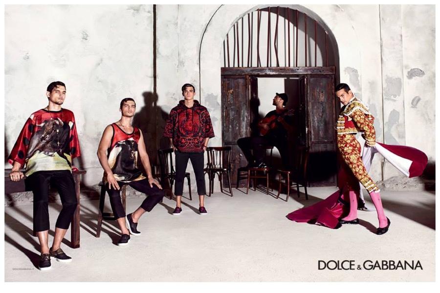 Dolce & Gabbana Spring/Summer 2015 Menswear Campaign Featuring José Mari Manzanares