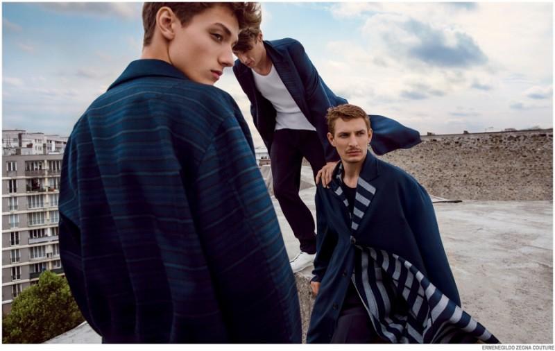 Fred Schmidt Fronts Ermenegildo Zegna Couture Spring Summer 2015 ... 550ed6311b9