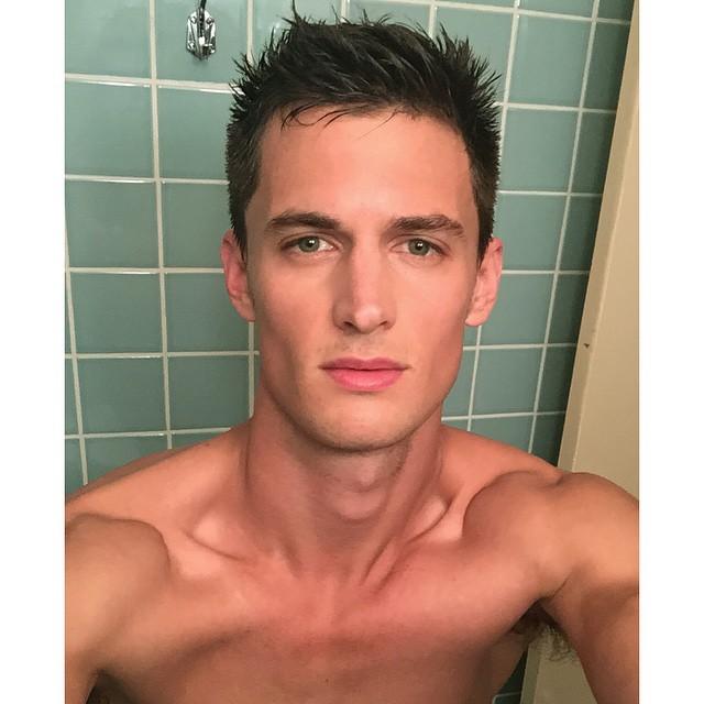 Garrett Neff gets a new haircut