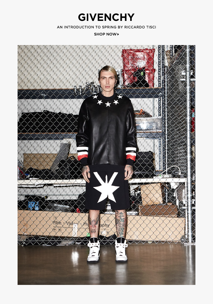 Shop Givenchy Men Streetwear-Inspired Arrivals at FWRD