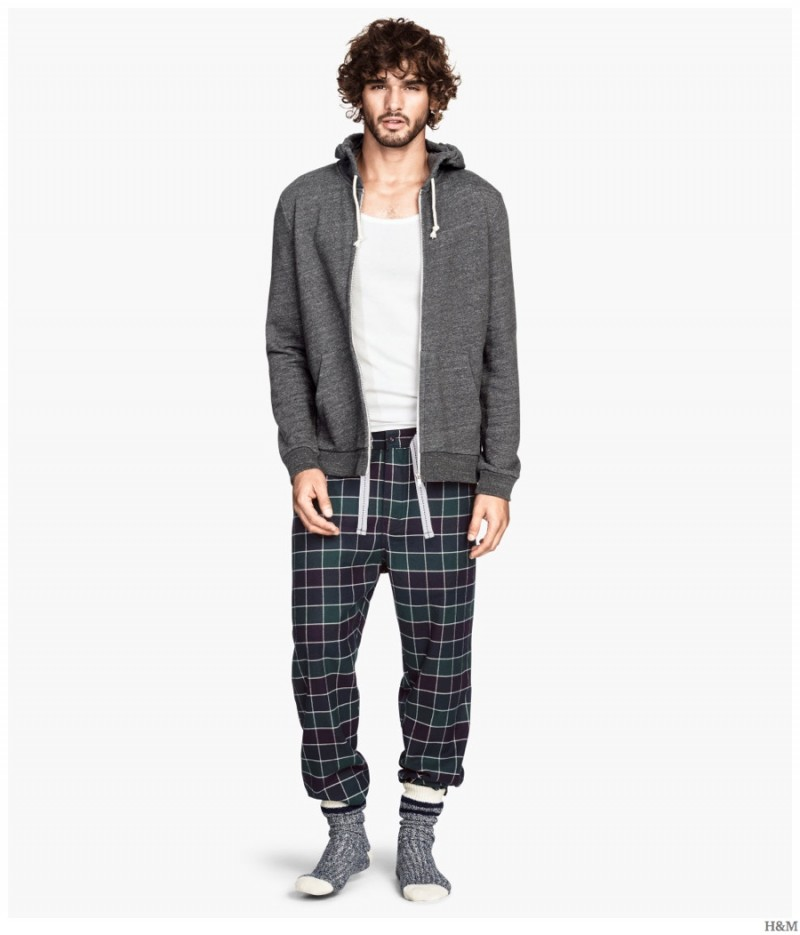 H&M Highlights Cozy & Classic Men's Loungewear + Pajamas ...