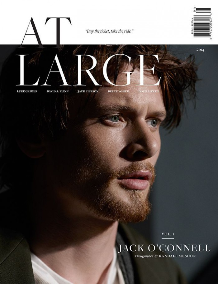 'Unbroken' actor Jack O'Connell photographed by Randall Mesdon with styling by Julie Ragolia
