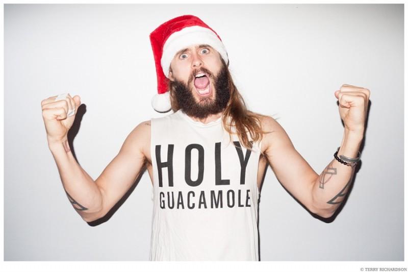 Jared-Leto-Terry-Richardson-Christmas-Photo-Shoot-2014-012