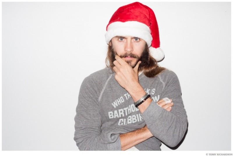 Jared-Leto-Terry-Richardson-Christmas-Photo-Shoot-2014-013