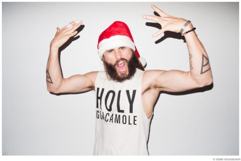 Jared-Leto-Terry-Richardson-Christmas-Photo-Shoot-2014-014