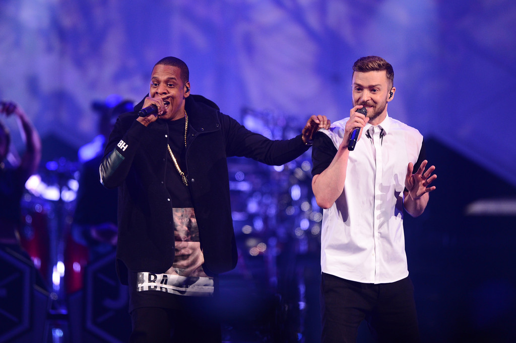 Jay Z Joins Justin Timberlake in Concert for 20/20 Experience Tour