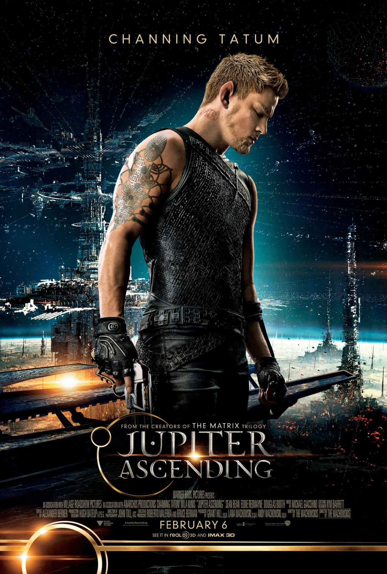 See 'Jupiter Ascending' Posters Featuring Channing Tatum, Eddie Redmayne + More