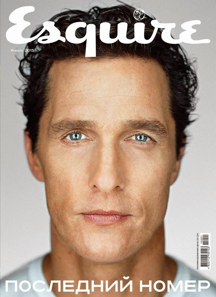 Matthew-McConaughey-Esquire-Ukraine-January-2015-Cover