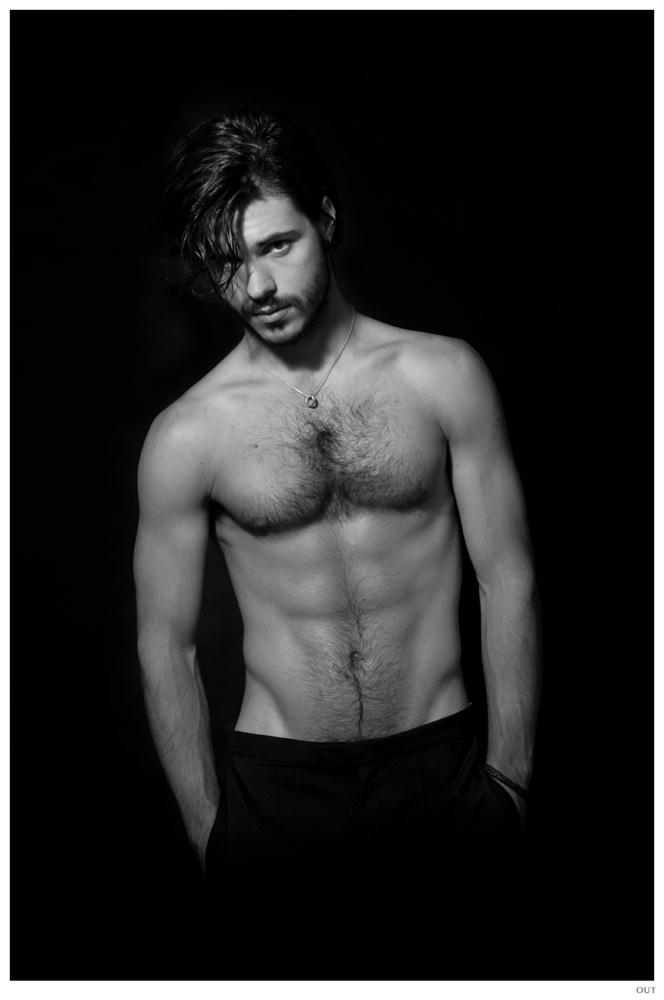 Matthieu Charneau Shirtless Picture