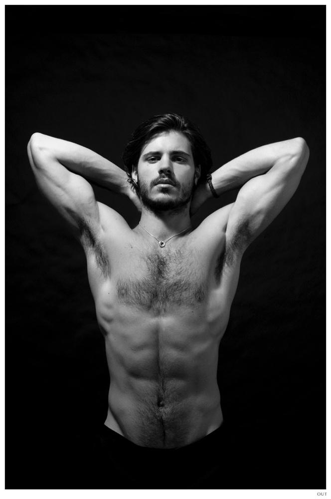 Matthieu Charneau Shirtless Photo