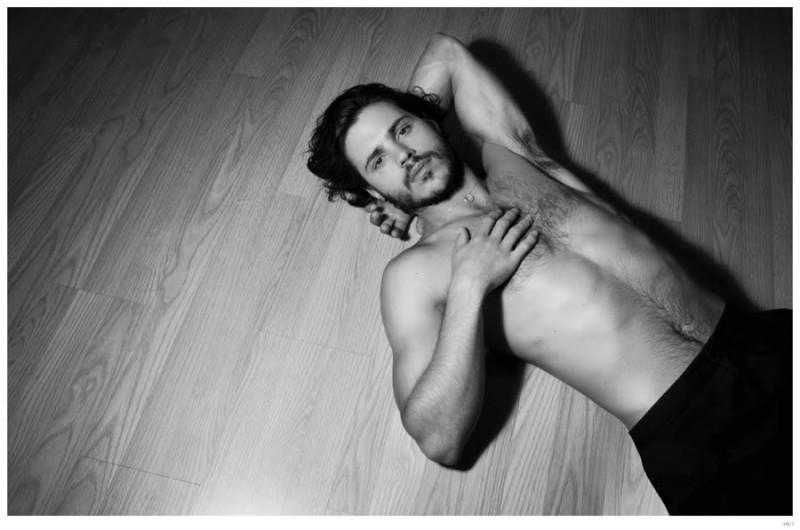Matthieu Charneau Shirtless