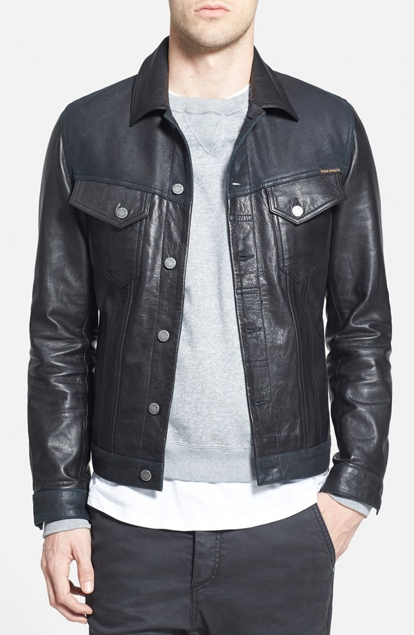 Nordstrom Highlights Men's Leather Jackets