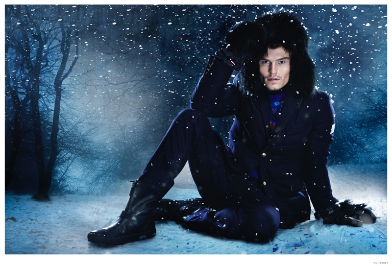 How to Wear the Winter Suit: Oliver Cheshire for GQ Turkey