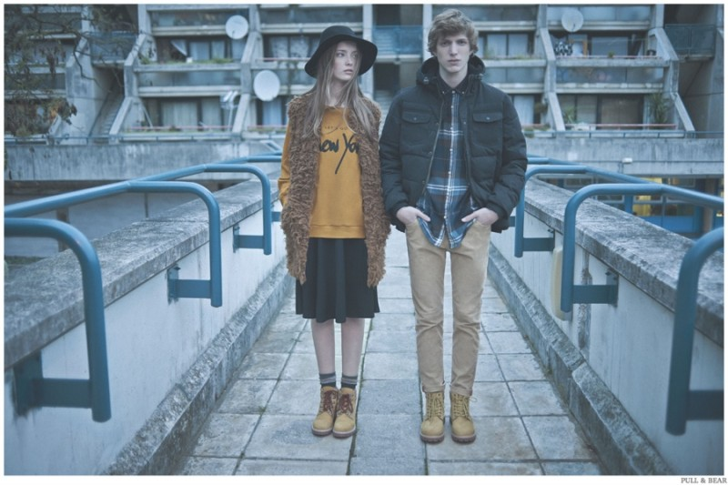 Pull & Bear Showcases 24 Hours of Winter Style