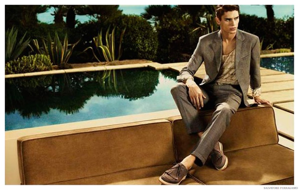 First Look: Salvatore Ferragamo Spring/Summer 2015 Men's Campaign