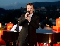 Performing as part of CBS' holiday special 'A Very Grammy Christmas', British singer Sam Smith took to the stage to sing a soulful rendition of 'Have Yourself A Merry Little Christmas'. For the occasion, Smith wore a minimal suit from Italian label Ermenedilgo Zegna Couture.