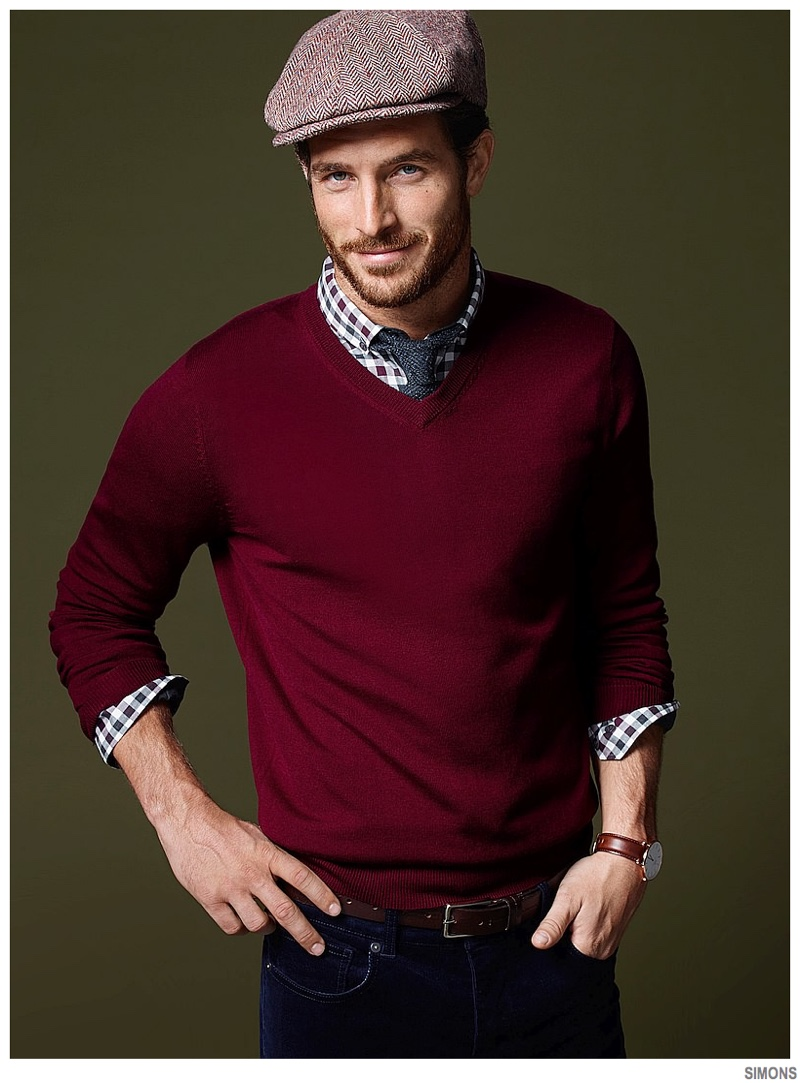 Simons Highlights Casual Holiday Men S Styles The