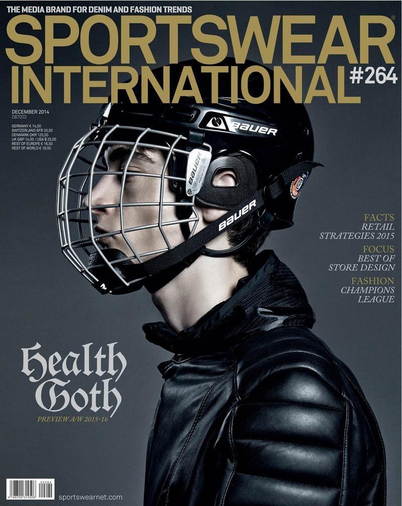 Corentin Renault Covers Sportswear International December 2014 Cover