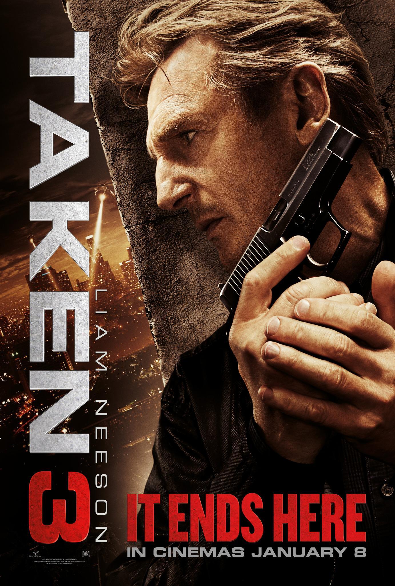 Watch New Taken 3 Trailer Featuring Liam Neeson
