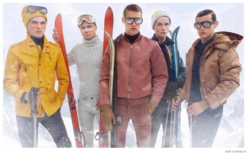 How to Spend It Champions Chic Men's Ski Style