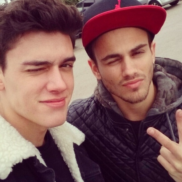 Xavier Serrano links up with Sergio Carvajal for a shoot