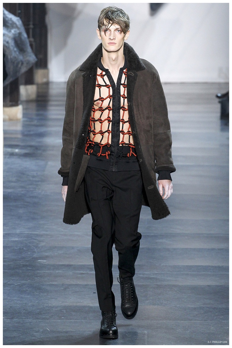 3.1 Phillip Lim Fall/Winter 2015 Menswear Collection Champions Mountaineering Styles