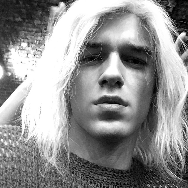 Adam sure knows how to turn heads. The model recently went blond for an editorial shoot that's on the horizon.