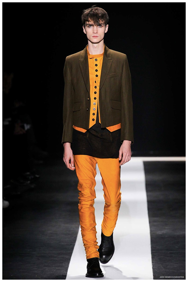 Ann Demeulemeester Fall/Winter 2015 Menswear Collection: New Edition