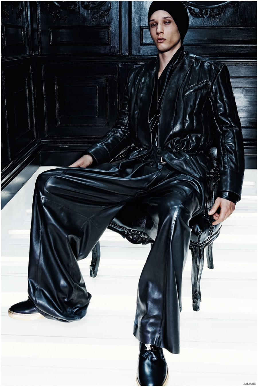 Balmain Fall/Winter 2015 Menswear Collection: In Olivier Rousteing's Own Words