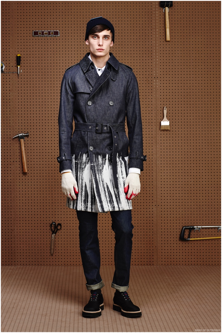 Band of Outsiders Fall/Winter 2015 Menswear Collection Inspired by The Great American Hardware Store