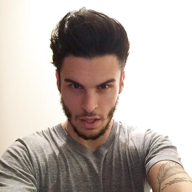 Baptiste Giabiconi snaps a selfie