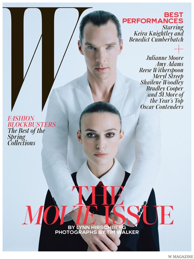 Benedict Cumberbatch, Bradley Cooper, Jack O'Connell + More Appear in W Magazine February 2015 Cover Shoot by Tim Walker
