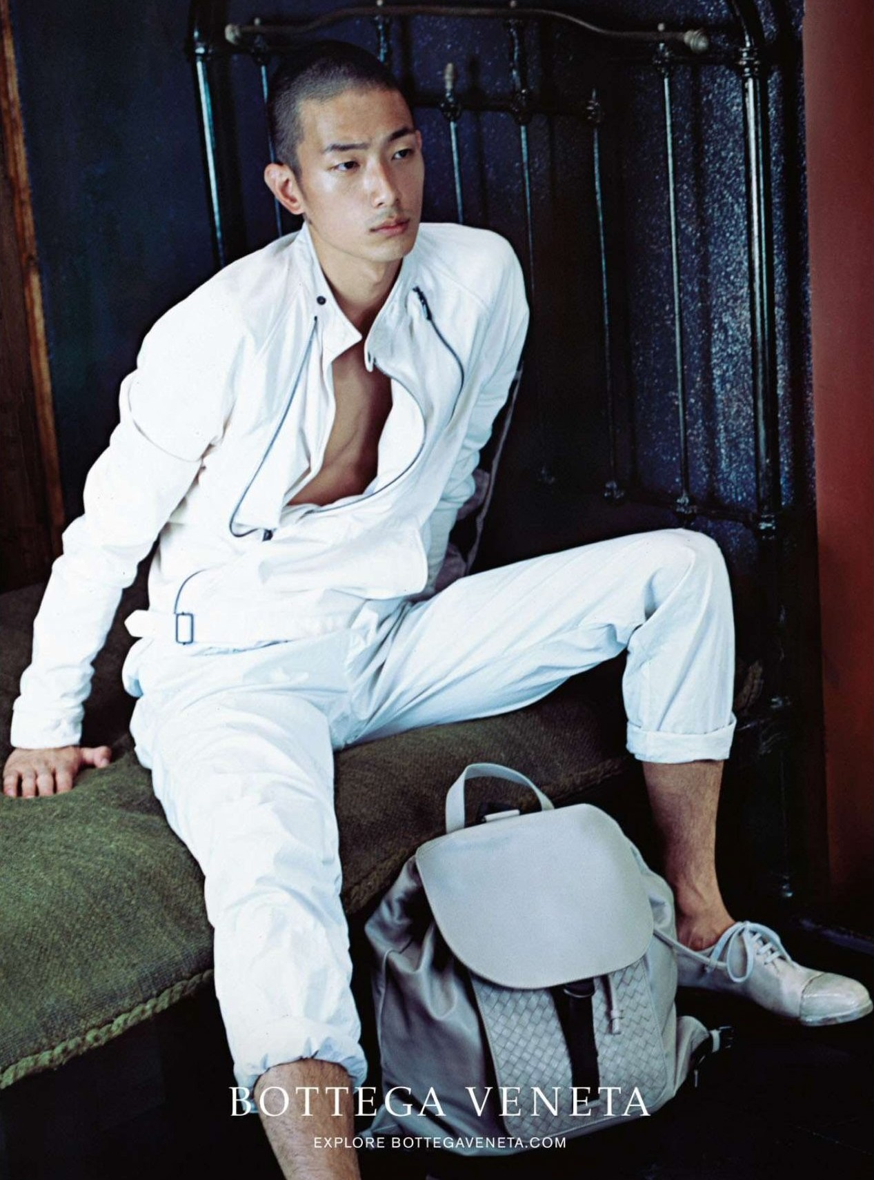 Sung Jin Park is White Hot in Latest Bottega Veneta Spring 2015 Ad Photo