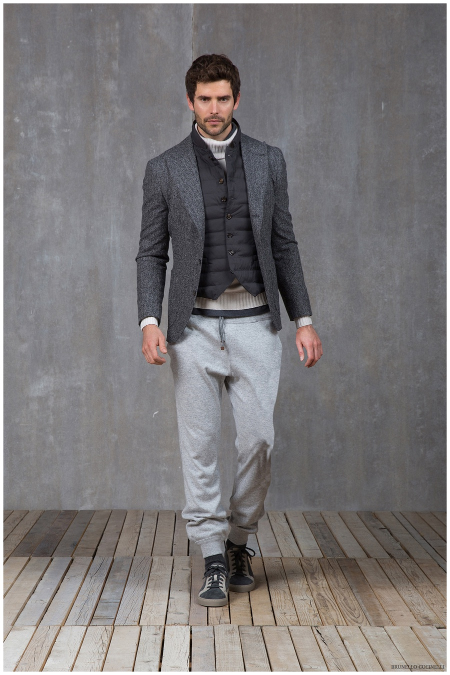 Brunello Cucinelli Perfectly Layers Down Pieces for Fall ...