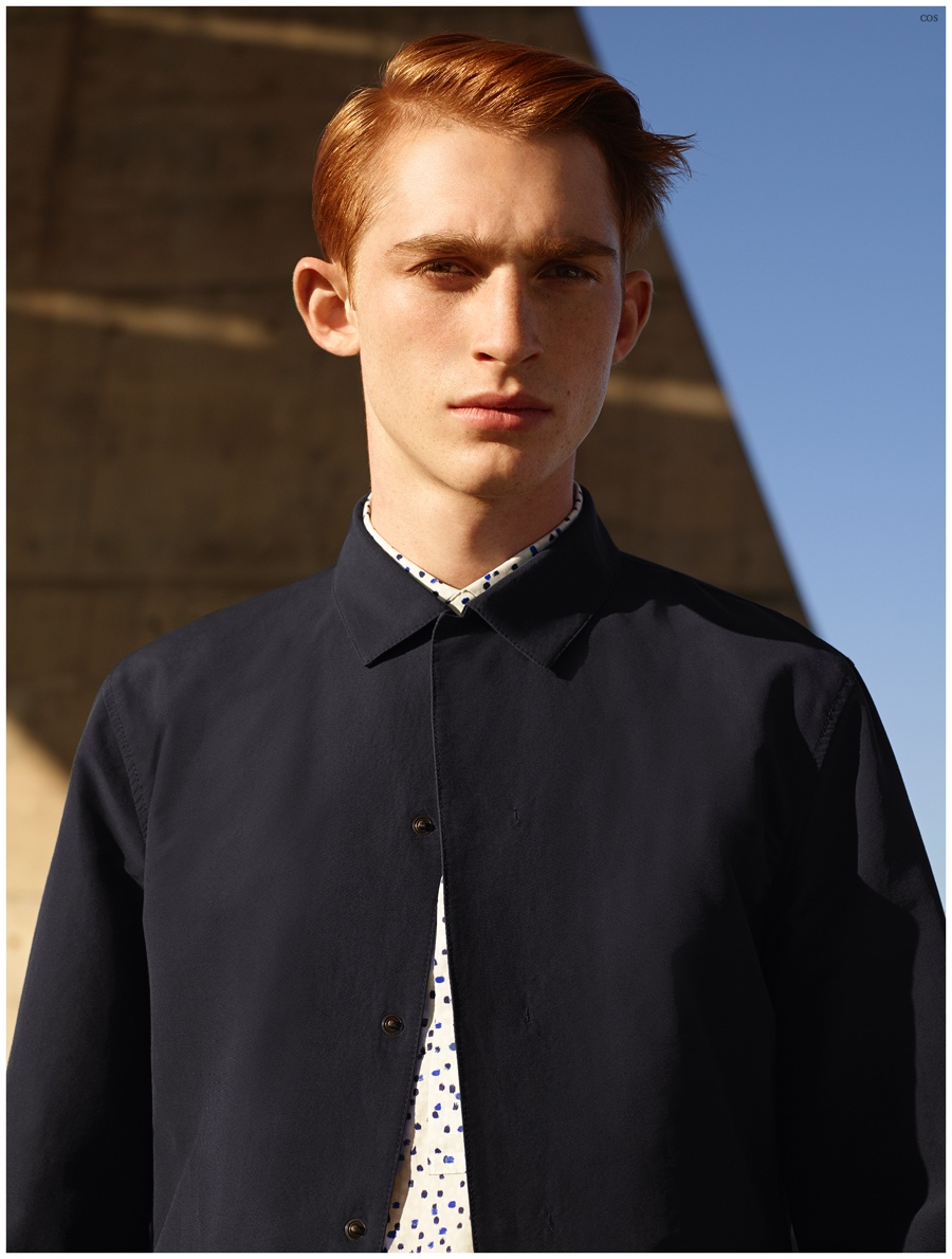 COS Spring/Summer 2015 Menswear Campaign is Minimal Fashion Bliss