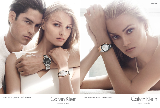 Calvin Klein Watches Delivers Serene White Ad Campaign for Spring/Summer 2015
