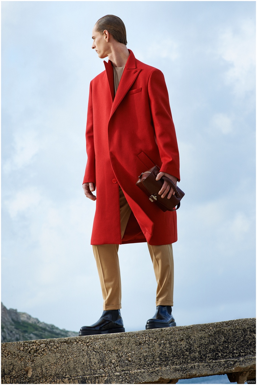 Carven Fall/Winter 2015 Menswear Collection Explores 80s Oversized Silhouettes