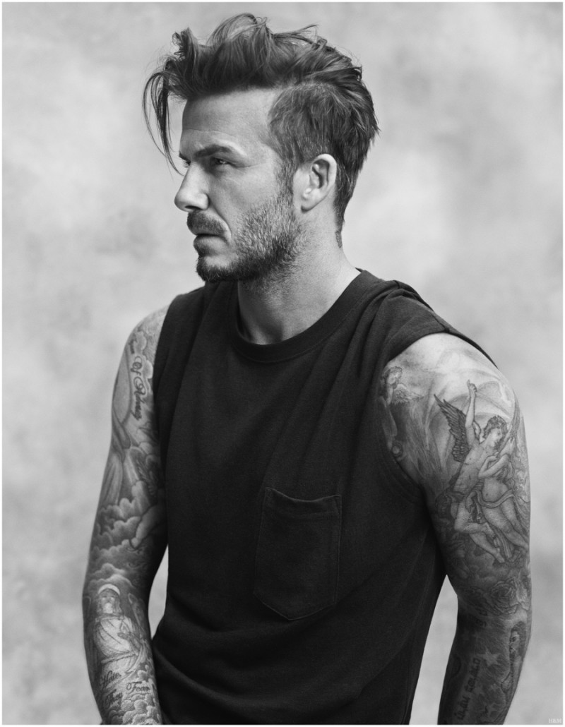 David beckham hairstyle evolution pictures image credit shutterstock david beckham appears in a spring 2015 campaign for his hm bodywear line urmus Images