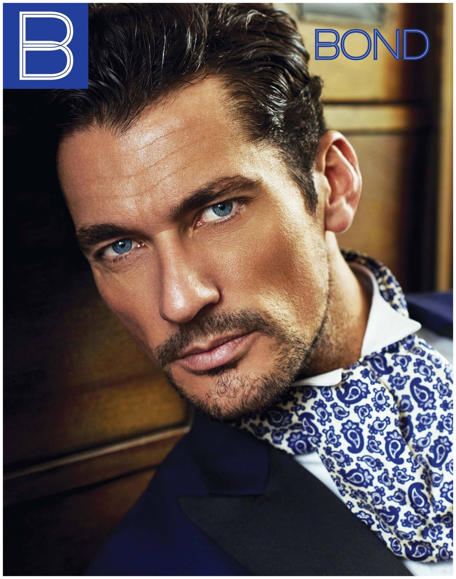 David Gandy Covers Bond Magazine in Sartorial Fashions