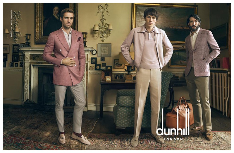 See More Images from Dunhill Spring 2015 Men's Campaign