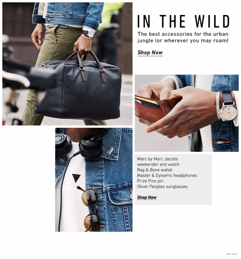 afe403eaa10 Urban Jungle  Men s Accessories   Essentials for the Man on the Go ...