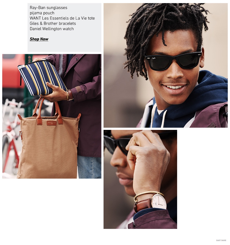 Urban Jungle: Men's Accessories & Essentials for the Man on the Go