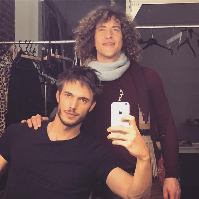 Federico Cola gets a haircut