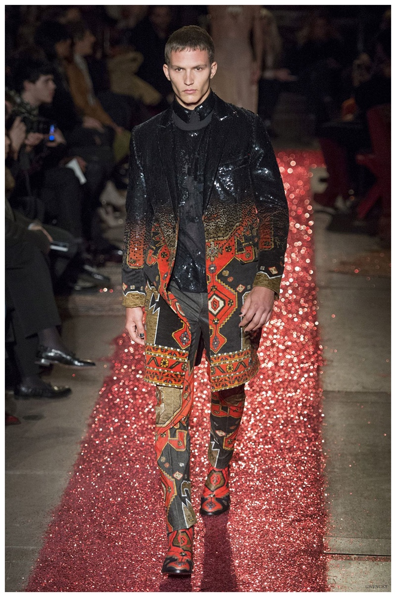 6a7c7a2906b3 Givenchy Fall Winter 2015 Menswear Collection  Devil s in the ...