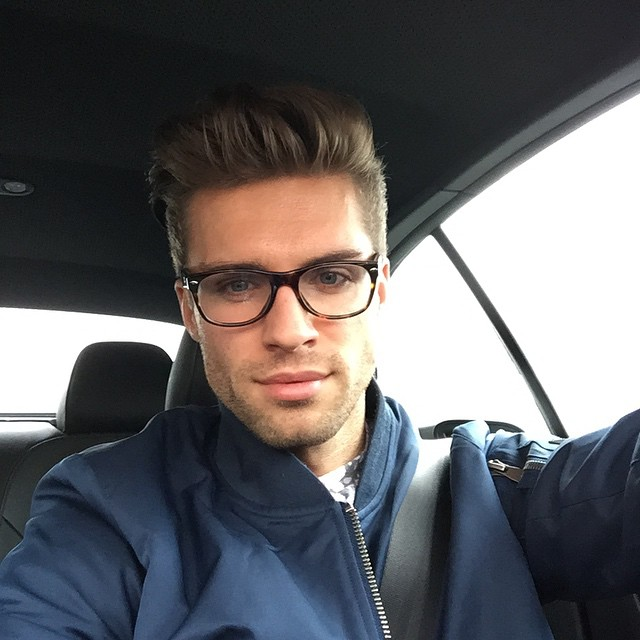Igor Prusinowski is geek chic in frames