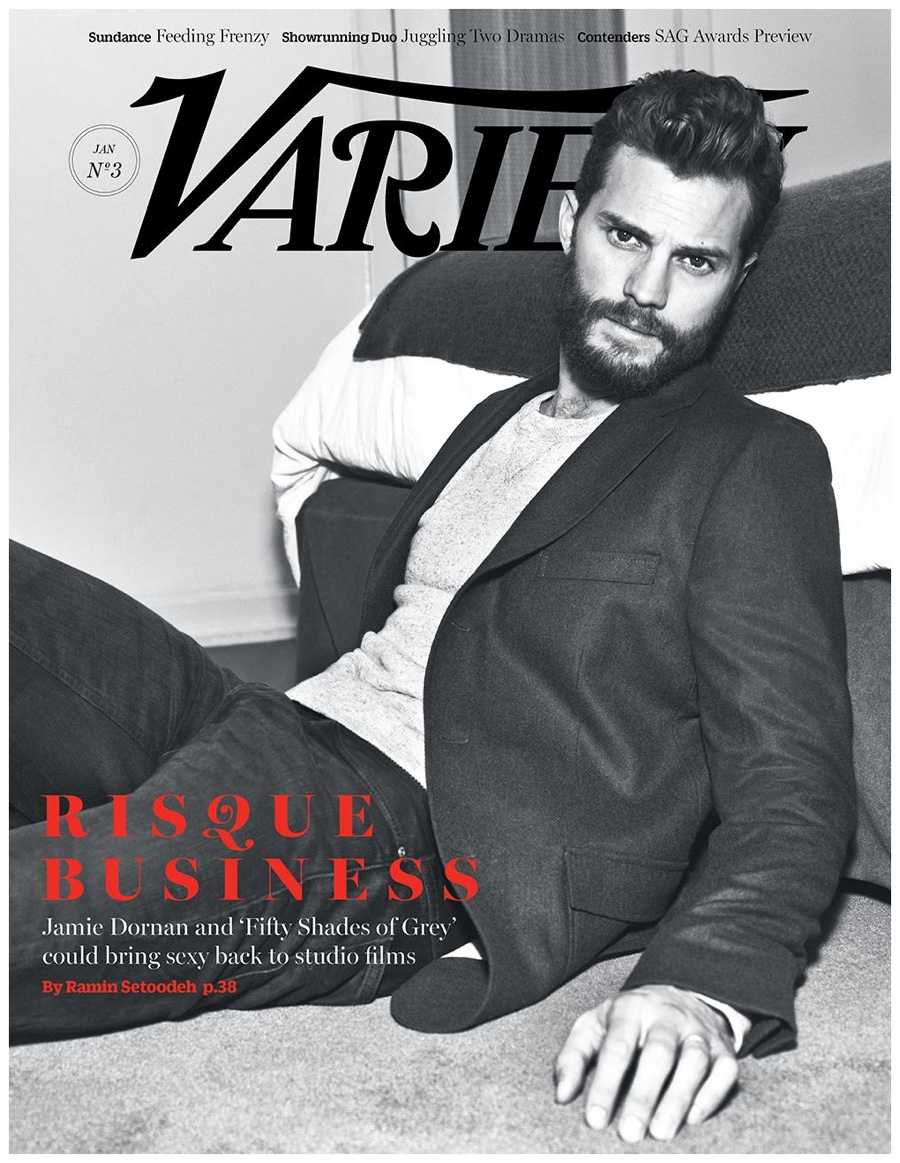 Jamie Dornan Poses for Variety Cover Shoot, Talks 'Fifty Shades of Grey' & Sex Scenes