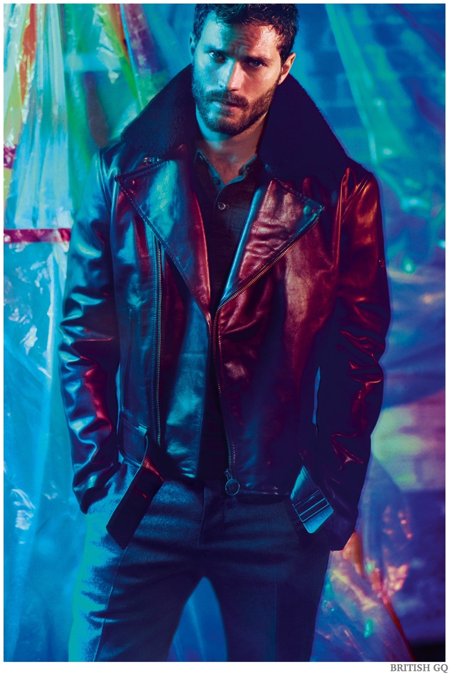 Jamie Dornan Poses for British GQ February 2015 Shoot, Talks Filming 'Fifty Shades of Grey' Sex Scenes