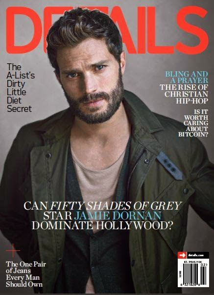 Jamie Dornan Covers Details February 2015 Issue