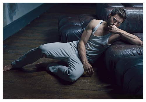 Jamie Dornan Poses for Details February 2015 Cover Shoot, Fears Being Murdered by Crazy 'Fifty Shades of Grey' Fan
